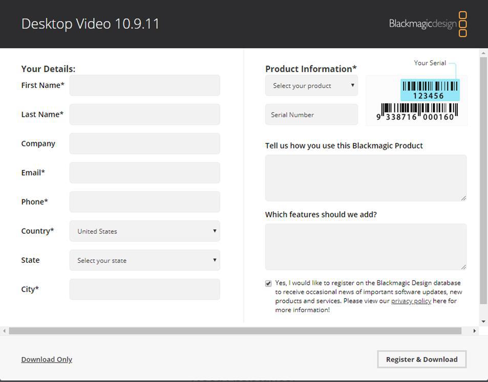 I O Card Setup For Sdi Blackmagic Decklink Quad 2 Or Duo 2 Singular Live Support Portal