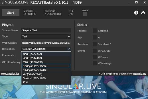 NDI Using Singular Recast – Singular Live